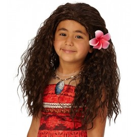 Perruque Vaiana™ enfant Disney™