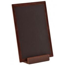 Grande ardoise en bois chocolat 15 cm