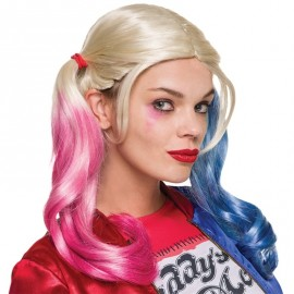 Perruque Harley Quinn Suicide Squad™ adulte