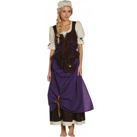 Déguisement servante médiévale femme