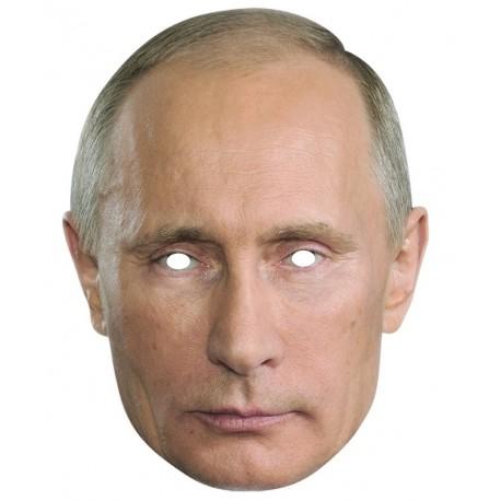 Masque carton Vladimir Poutine