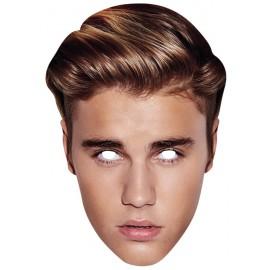 Masque carton Justin Bieber