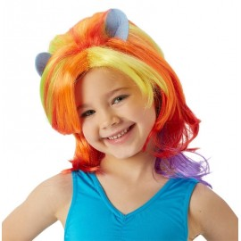 Perruque mon petit poney™ fille Rainbow Dash™
