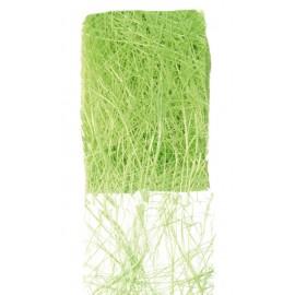 Ruban abaca vert anis 70 mm x 5 M