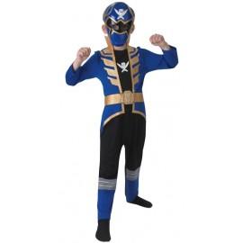 Déguisement Power Rangers™ bleu enfant super megaforce™
