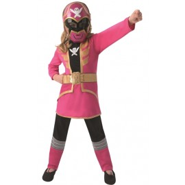 Déguisement Power Rangers™ rose fille super megaforce™