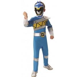 Déguisement Power Rangers™ bleu Dino Charge enfant luxe