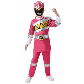 Déguisement Power Rangers™ Dino Charge rose fille luxe
