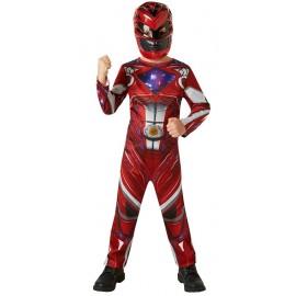 Déguisement Power Rangers™ Rouge garçon - Film