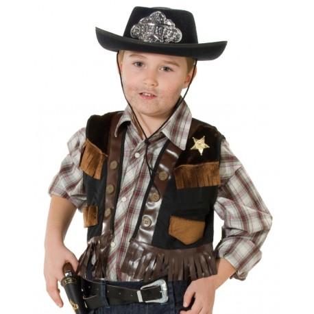 d guisement gilet cowboy gar on achat d guisements cowboy enfant. Black Bedroom Furniture Sets. Home Design Ideas