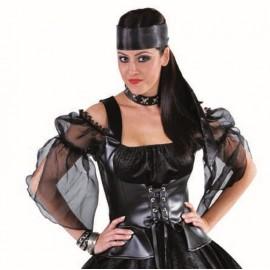 Foulard noir luxe mixte