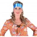 Foulard turquoise luxe mixte