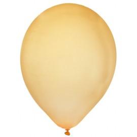 Ballons métallisés or 23 cm les 8