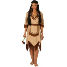 Déguisement indienne femme apache