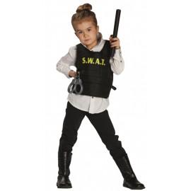 Déguisement agent SWAT fille