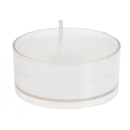 Bougie chauffe plat blanche les 4
