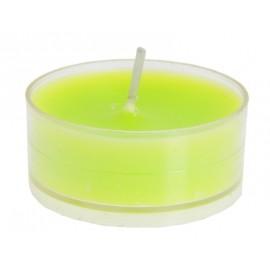 Bougies chauffe plat vert anis les 4