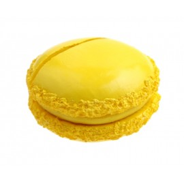 Marque-place macaron jaune les 2