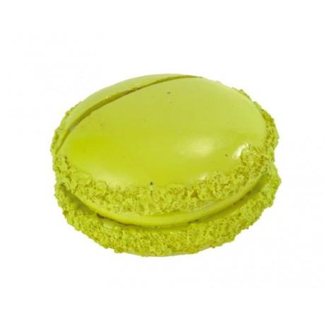 Marque-place macaron vert anis les 2