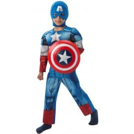 Déguisement Captain America™ garçon Avengers™ luxe