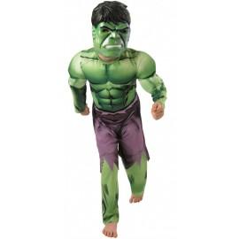 Déguisement Hulk™ garçon Avengers™ musclé luxe
