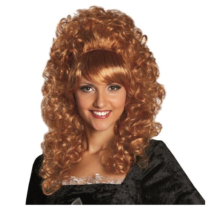 Perruque baroque bouclée femme : Perruques