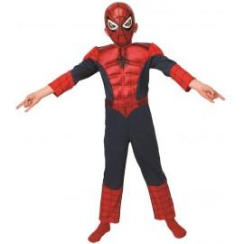 Déguisement Spiderman Ultimate™ garçon musclé luxe