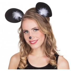 Serre tête oreilles de souris femme