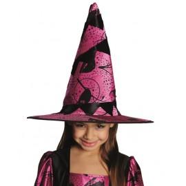 Chapeau sorcière fille Halloween