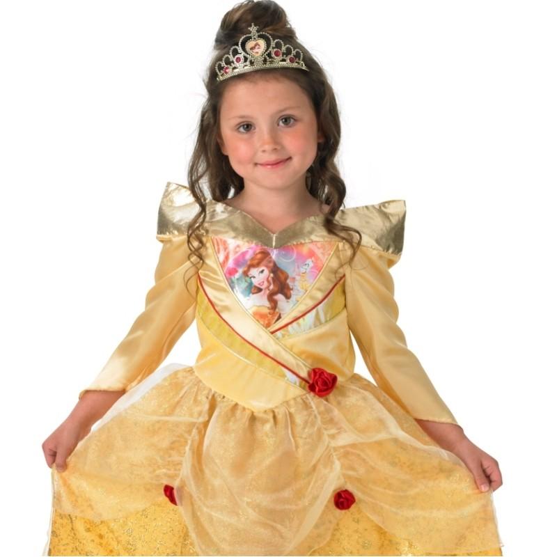 d guisement belle disney fille princesse la belle et la b te. Black Bedroom Furniture Sets. Home Design Ideas