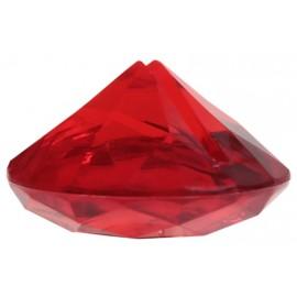 Marque-place diamant rouge les 4
