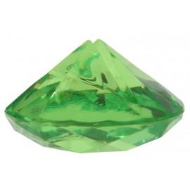 Marque-place diamant vert les 4