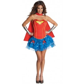 Déguisement Wonder Woman™ femme sexy