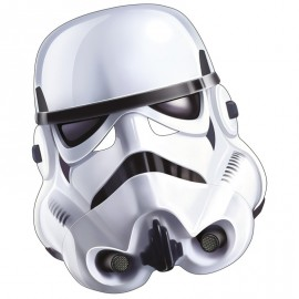 Masque carton Stormtrooper blanc Star Wars™