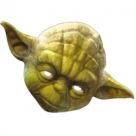 masque carton yoda star wars masques star wars. Black Bedroom Furniture Sets. Home Design Ideas