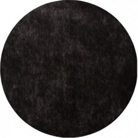 Set de table noir rond en intiss les 50 achat sets de table - Set de table noir ...