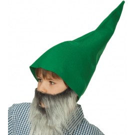 Bonnet de nain vert adulte et enfant