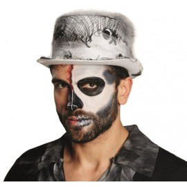 Chapeau haut de forme Halloween adulte