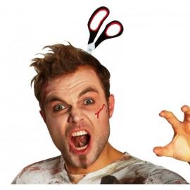 Serre-tête ciseaux adulte Halloween
