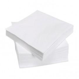 Serviette papier blanc 1er prix les 100