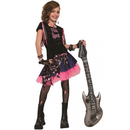 d guisement pink rock fille achat d guisements rock star fille. Black Bedroom Furniture Sets. Home Design Ideas
