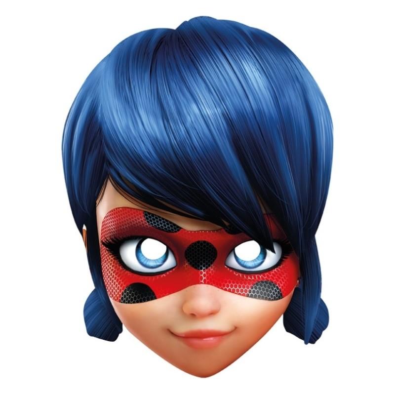 Masque carton ladybug miraculous™ masques coccinelle