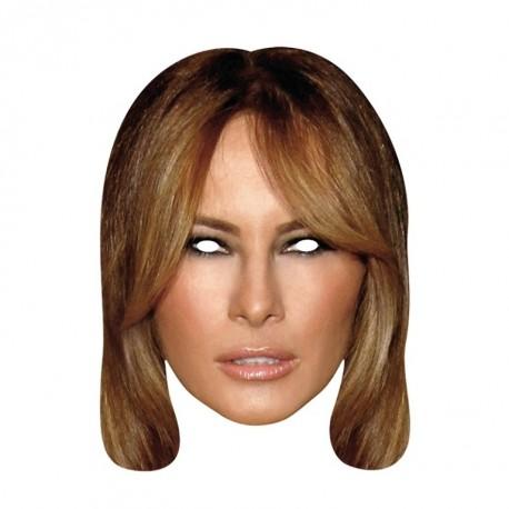 Masque carton Melania Trump