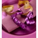 Bolduc pailleté violet 50 M