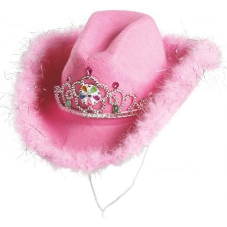 Chapeau Cowboy Rose Femme Achat Chapeaux Cowboy Carnaval