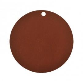 Etiquette carton chocolat ronde les 10