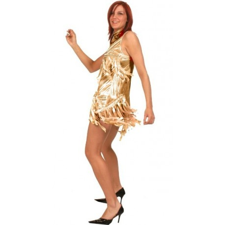Déguisement disco or femme