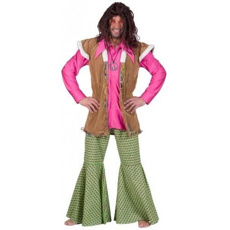 Déguisement pantalon hippie homme
