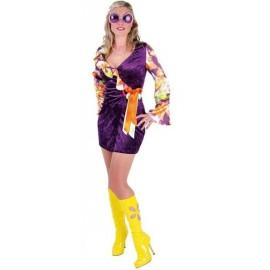 Déguisement hippie flower femme