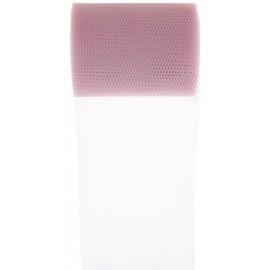 Rouleau de tulle rose 80 mm x 10 M